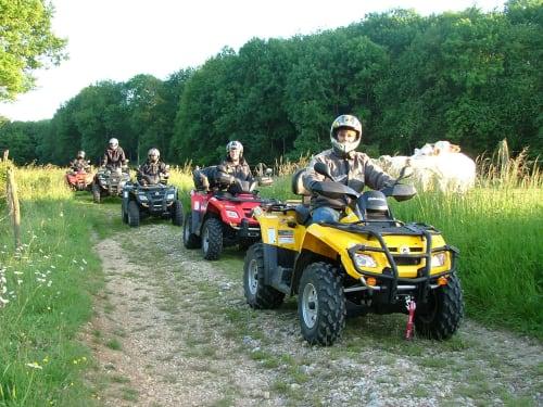 Randonnée en Quad à Viarmes : Sherwood Parc