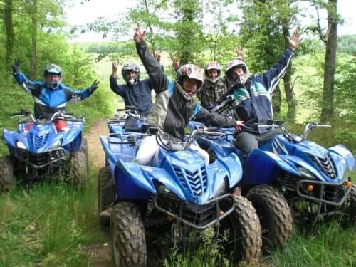 Randonnée quad proche de Meaux : Escadrar