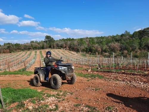 Randonnée en Quad proche de Draguignan : Quad in Family