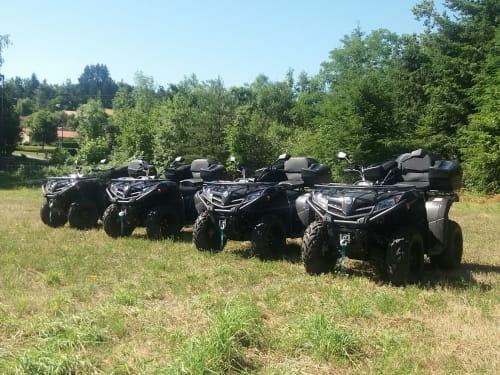 Randonnée en Quad à Saint-Jean-la-Bussière : Quad Rando Découverte