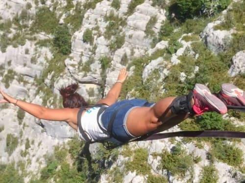 Saut à l'élastique au Pont de l'Artuby : Latitude challenge