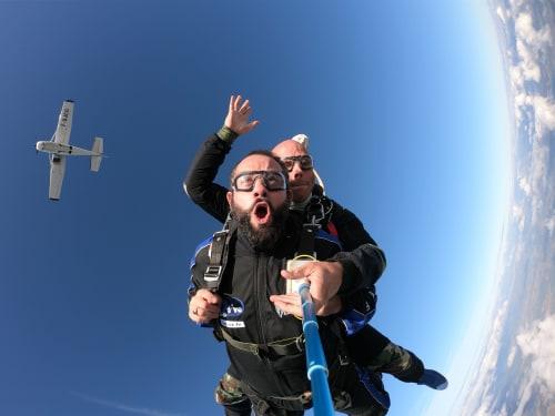 Saut en Parachute à La Flèche : 2DIVE