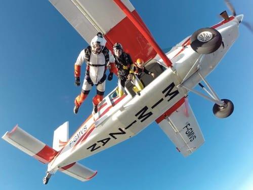 Saut en parachute à Mimizan : OJB Parachutisme