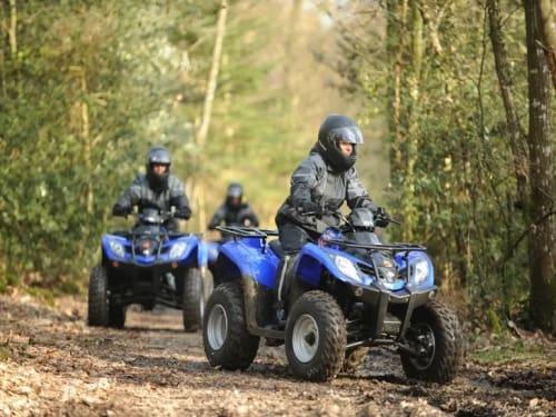 Randonnée quad à Chantilly: Escadrar