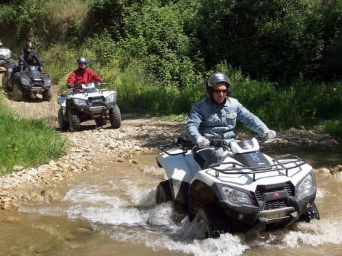 Randonnée en Quad proche d'Uzès : Quad Escape Bourdic