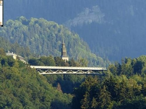 Saut à l'élastique depuis le Viaduc de Saint Gervais : Bungee Mont-Blanc