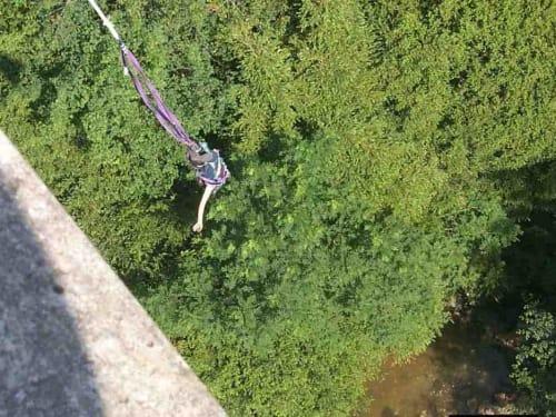 Elastic Jump au Pont de Bezergues