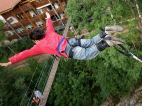 Saut à l'élastique dans les Vosges : Bol d'Air