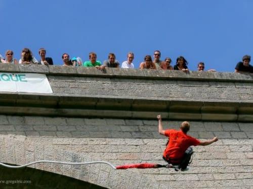 ROC ET CANYON Viaduc à Alzon, Languedoc-Roussillon