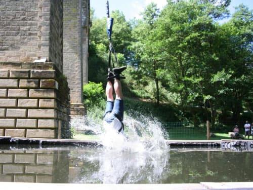 Adrenaline Elastique au Viaduc de Claudon (pont Tatal)