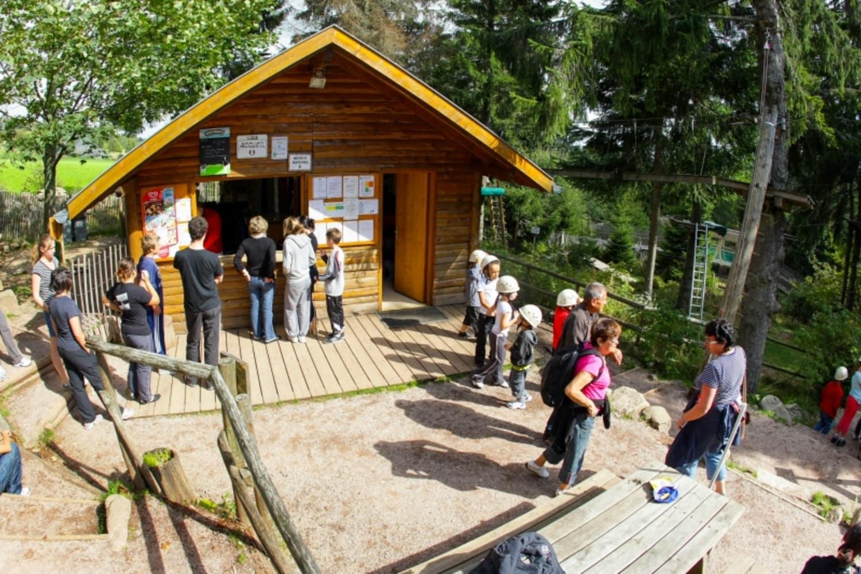 Lac Blanc parc d'aventures - Orbey