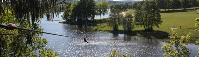 Arbre & Aventure lac de Saint-Pardoux - Razès