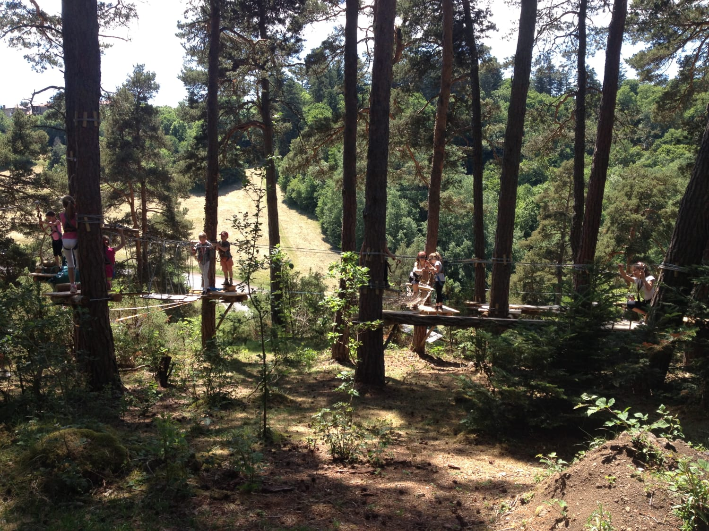 Canopy en Forêt - Saint-Paulien