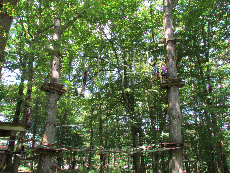 Parc Acrobatique forestier d'Aignan - Aignan