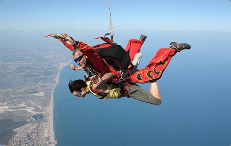 saut en parachute beziers