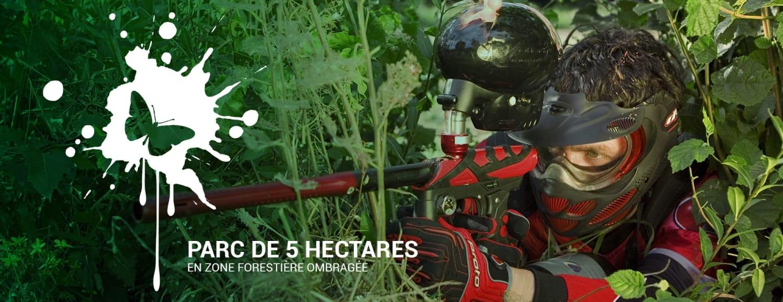 Ardèche Bio Paintball - Jaujac