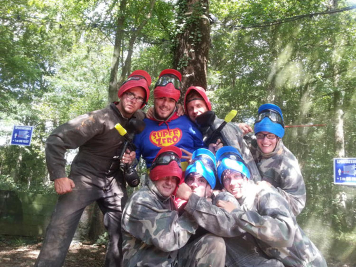 Paintball Mania - Grandchamps-des-Fontaines