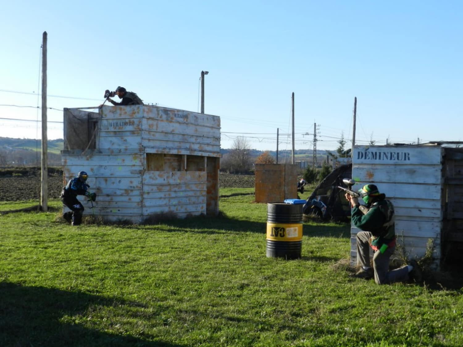 Paintball XXL Toulouse - Montlaur
