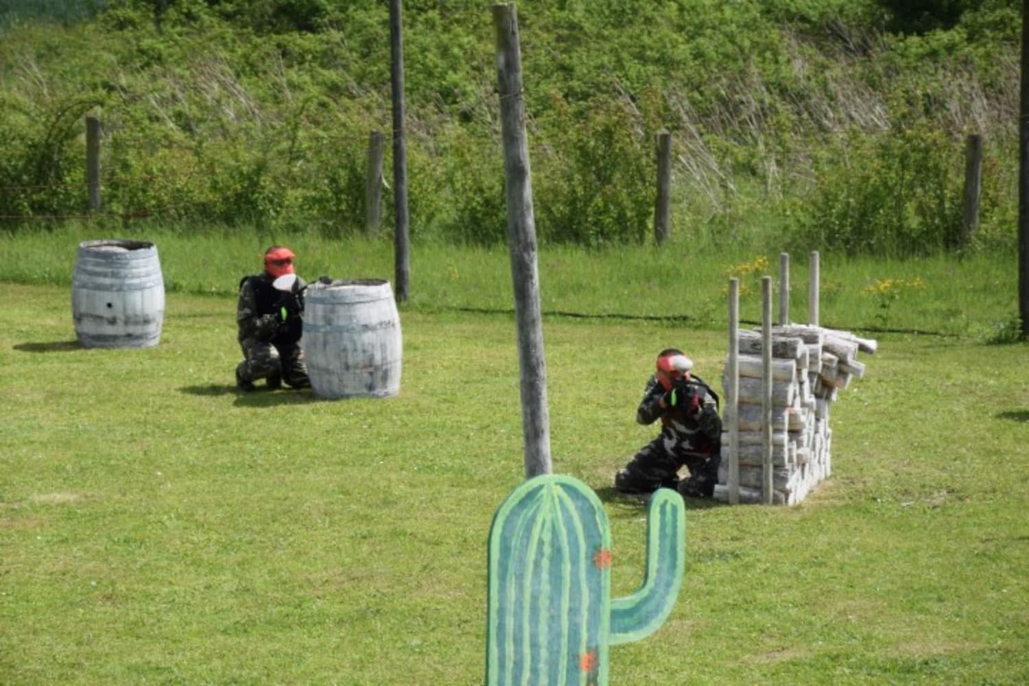 Paintball Circuit de l'Europe - Sotteville-Sous-le-Val