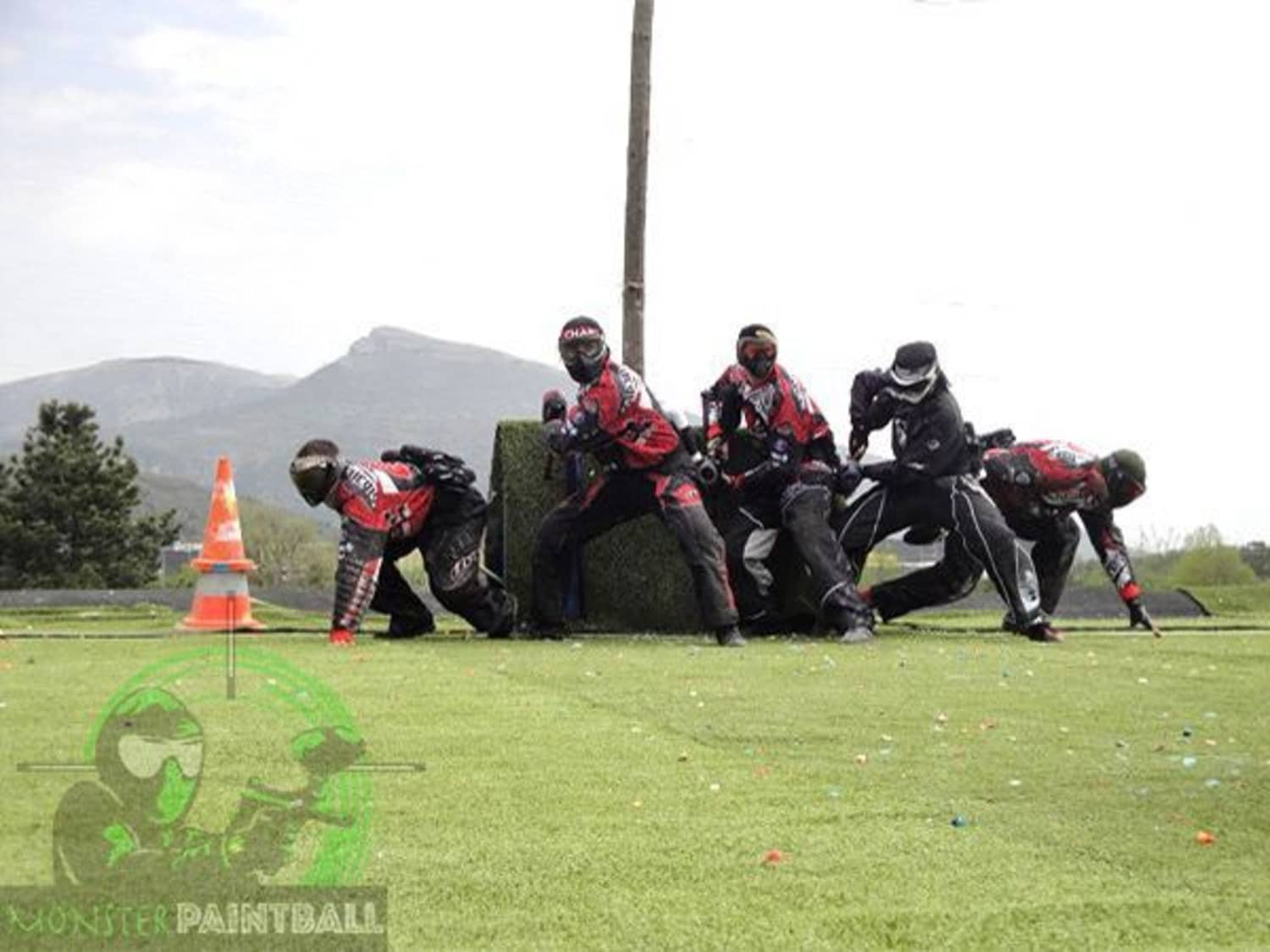 Monster Paintball Le Bar-sur-Loup - Le Bar-sur-Loup