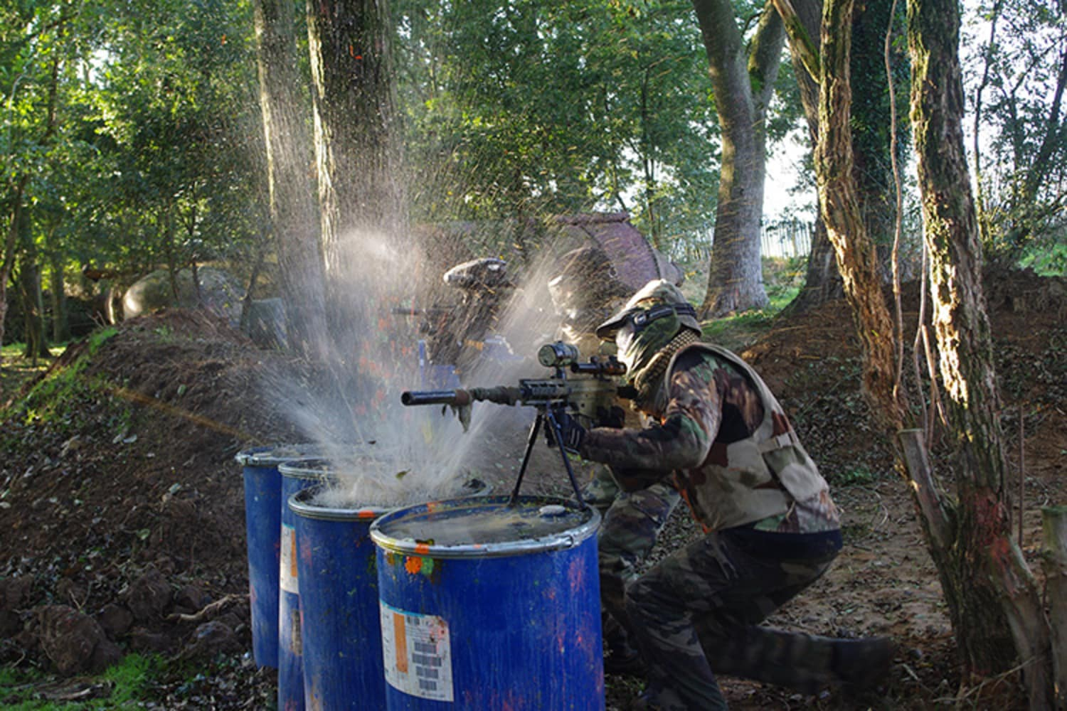 Sarl D Day Paintball Longvilliers - Longvilliers