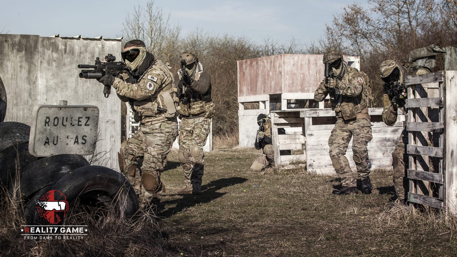 Reality Game Paintball - Guerville