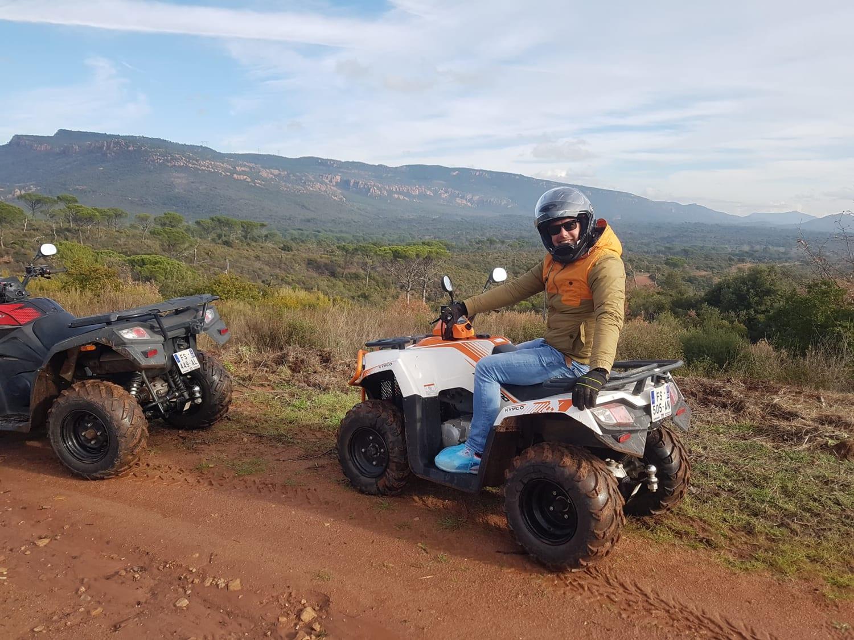 Randonnée en Quad dans le Massif des Maures : S-Quad - La Motte