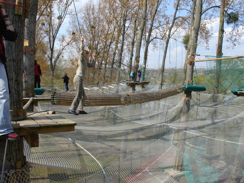 Parcours Accrospeeder Géant à Cergy – Xtrem Aventure - Cergy-Pontoise