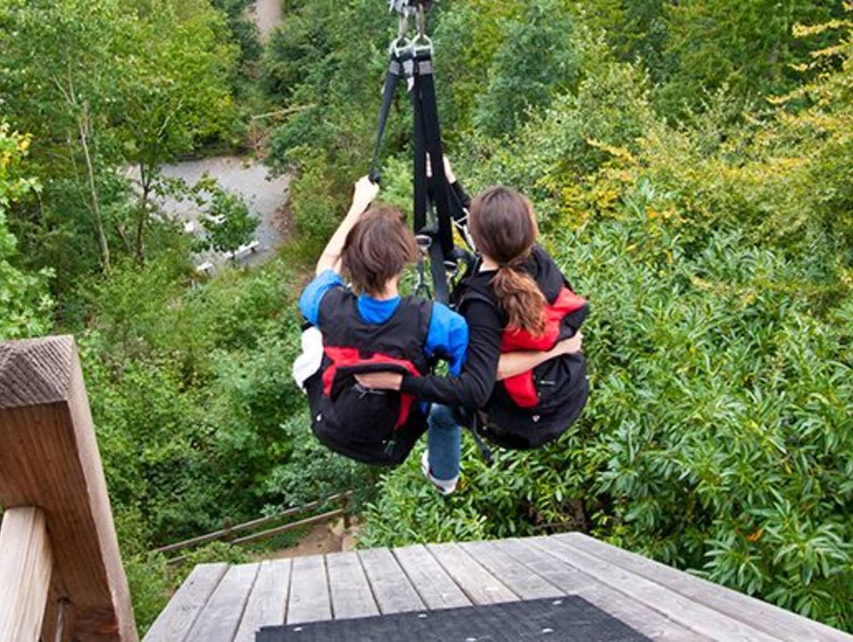 Viaduc de la Souleuvre - Tyrolienne Géante - Carville
