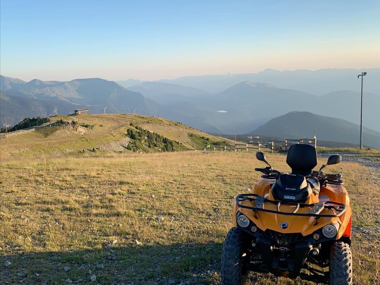 Randonnée en motoneige à Chamrousse : GTR Mountain - Chamrousse