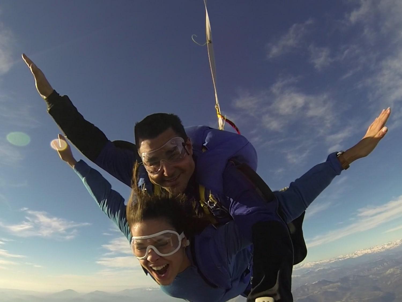 parachutisme var air