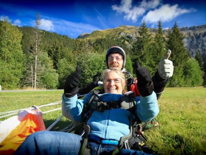 Parachutisme 74 - Baptême à Annemasse - ANNEMASSE