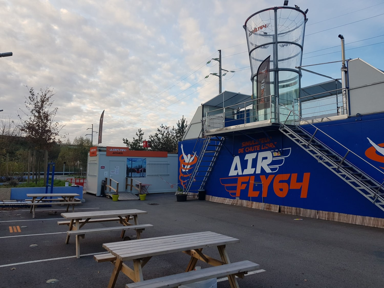 Chute libre Indoor à Bayonne : AirFly 64 - Bayonne