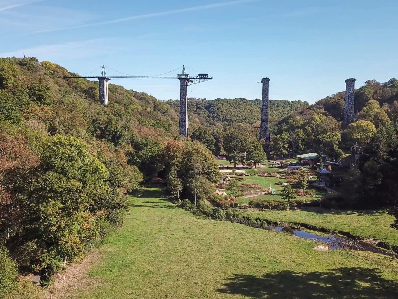 Saut à l'élastique depuis le Viaduc de la Souleuvre – Balançoire géante - Carville