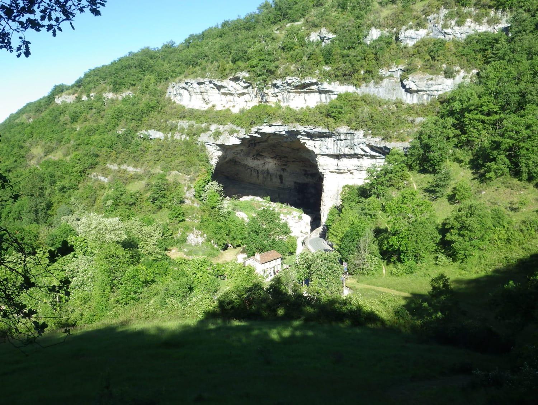 Saut à l'élastique depuis la Grotte du Mas d'Azil : Elastic Jump - Le Mas-d'Azil