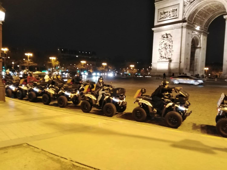 Randonnée nocturne en quad à Paris : Quad City Tour - paris