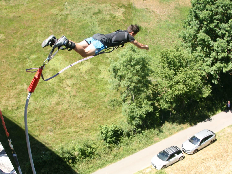 Adrenaline Elastique au Viaduc de la Thuilière à Juré - Juré