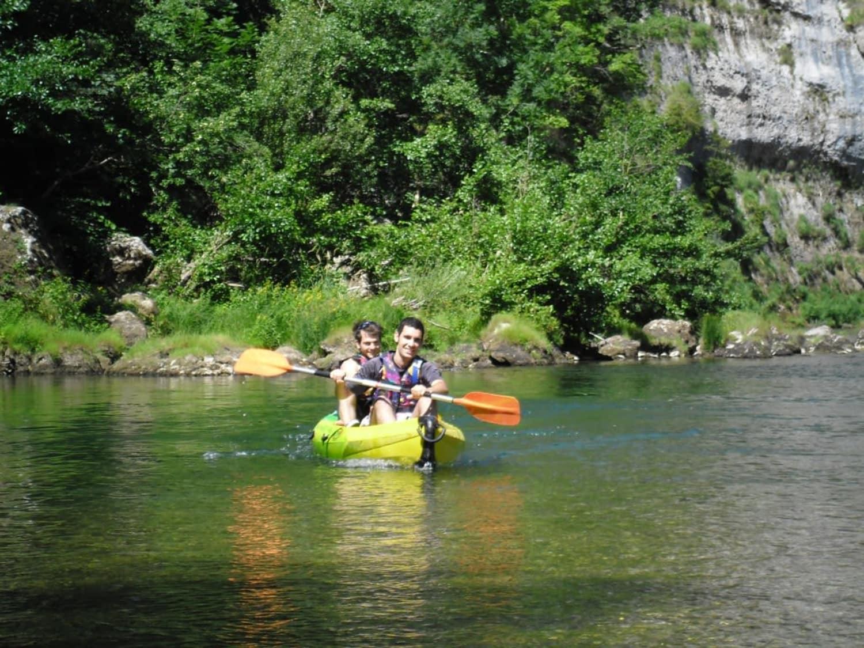 Ciel et Eau : Descente en canoë et saut à l'élastique de 107m dans les gorges du Tarn - La Malène