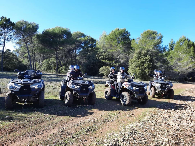 Randonnée en Quad proche de Draguignan : Quad in Family - Flayosc