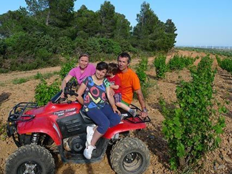 Randonnée en quad dans les Pyrénées: Pyrénées Roussillon Aventures - Mas de vespeille