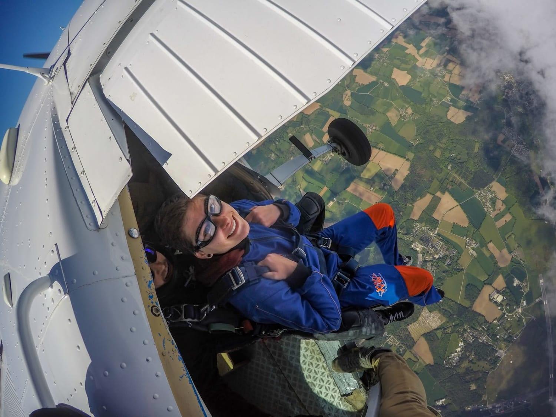 Saut en parachute à Monterblanc : Aero Tandem Celtic - Monterblanc