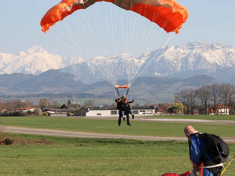 saut en parachute annemasse