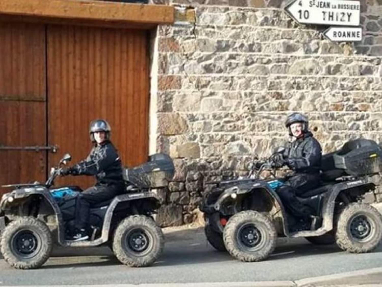 Randonnée en Quad à Saint-Jean-la-Bussière : Quad Rando Découverte - Saint jean la bussière