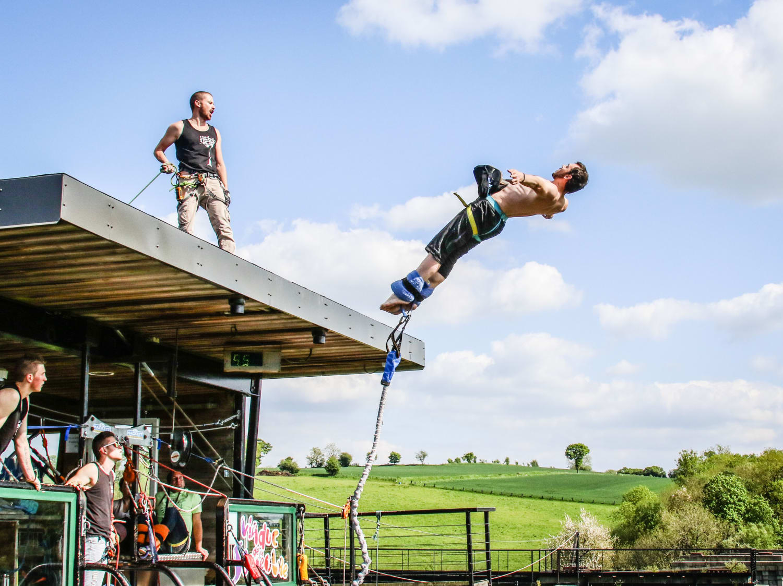 AJ Hackett : Saut à l'élastique du Viaduc de la Souleuvre - Carville