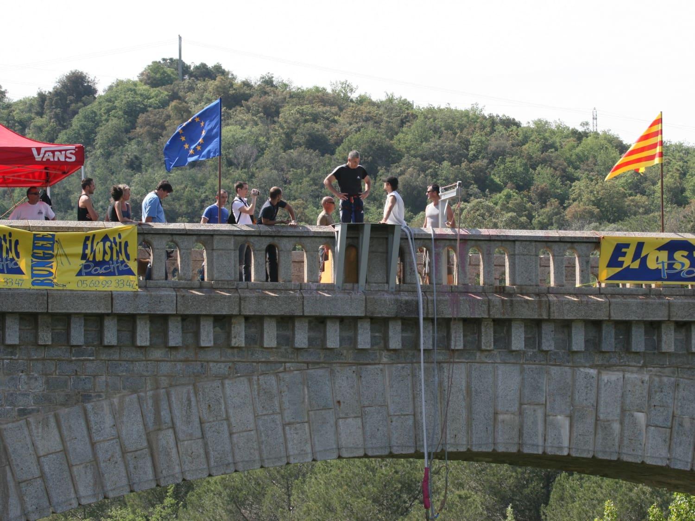 Saut à l'élastique au Pont du Diable : Luz Aventure - Céret