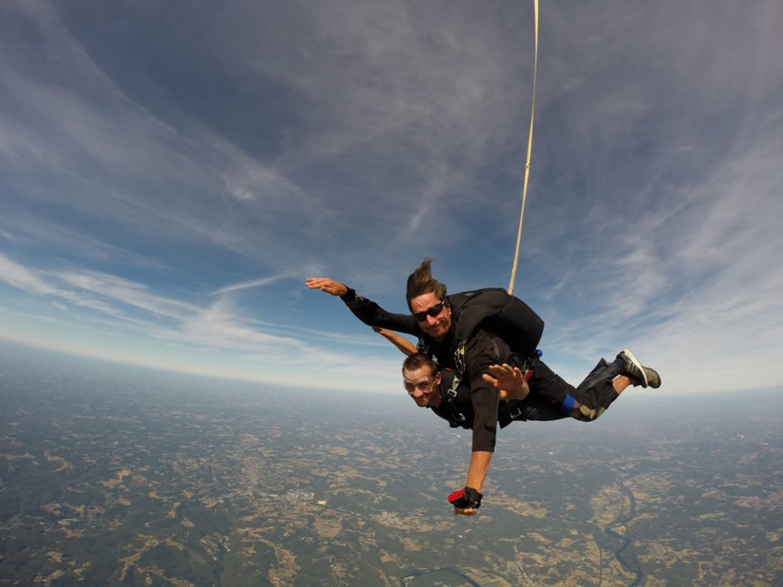 Saut en parachute à Sarlat : Chute Libre Dordogne - Domme