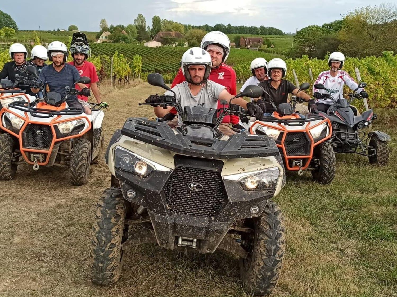 Randonnée en Quad près de Bergerac : les Randos de Nico - Ribagnac