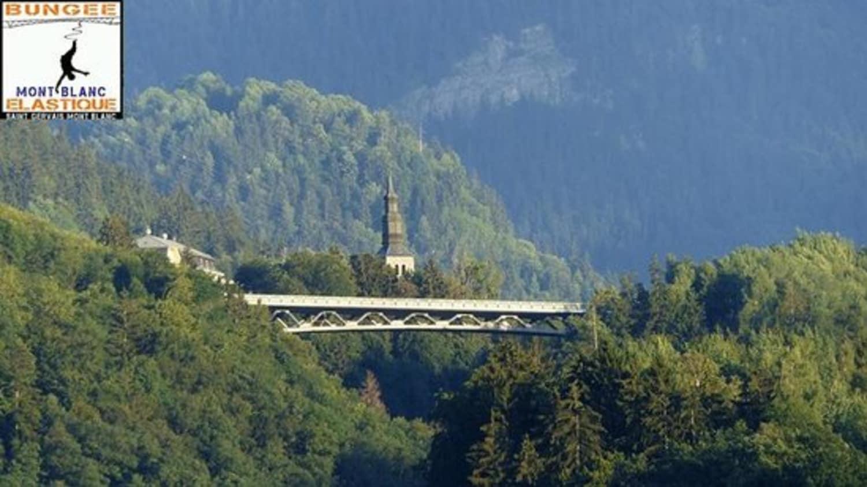 Bungee Mont-Blanc au Viaduc de Saint Gervais - Saint-Gervais-les-Bains