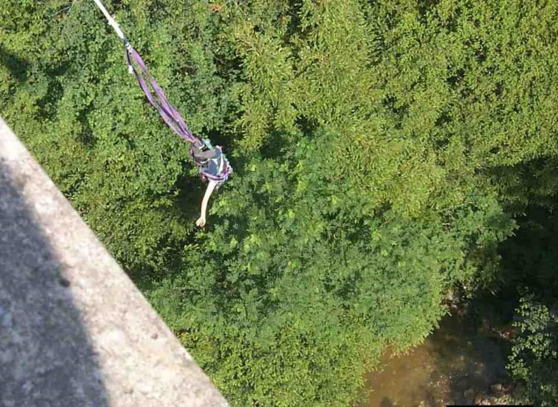 Elastic Jump au Pont de Bezergues - Lacrouzette