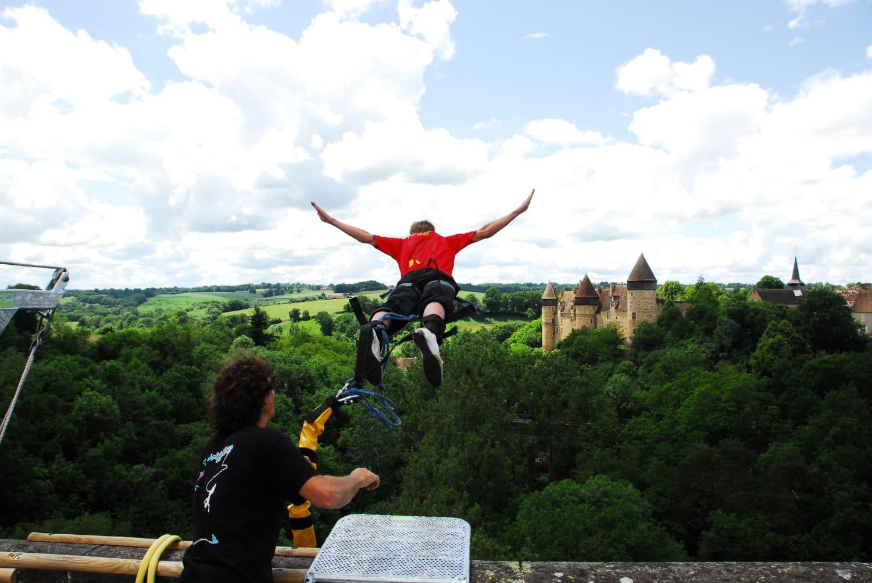 Antipodes Sport Nature - saut à l'élastique à 3h d'Auxerre - Auxerre